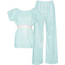 Pyžamy a župany - Lullaby - kimono a nohavice, rôzne farby - 9019741_