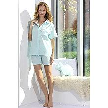 Pyžamy a župany - Lotus flanel - košeľa so šortkami, rôzne farby - 9019874_