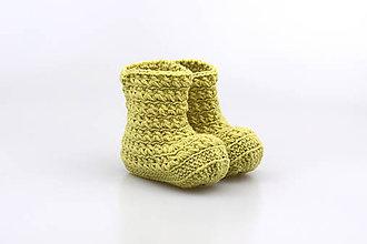 Topánočky - Zelené čižmy EXTRA FINE - 9016640_