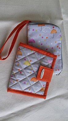 Peňaženky - Peňaženka so slnečníkmi - 9019042_