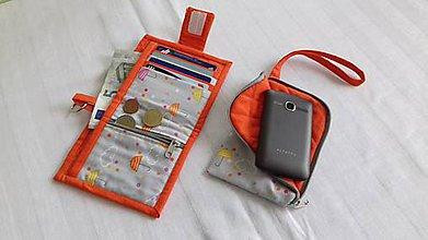 Detské tašky - Detská peňaženka so slnečníkmi - 9019050_