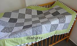 Patchwork deka pre detičky