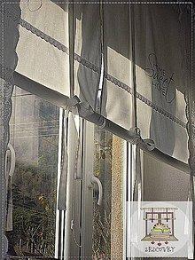 Úžitkový textil - roleta na mieru pre rene struharova - 9017546_