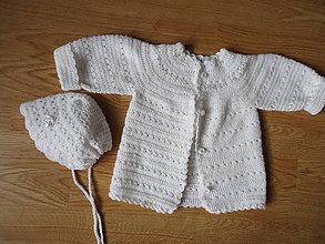 Detské oblečenie - detská súpravička- kvietočky - 9023147_