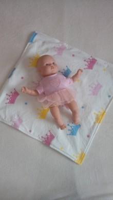 Hračky - Prebaľovacia podložka - deka pre babiky - 9021834_