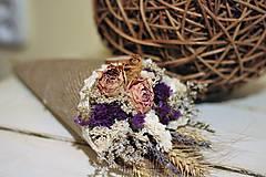 Dekorácie - Kvetinový kornútok - 9022499_