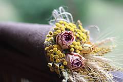 Dekorácie - Kvetinový kornútok - 9022535_