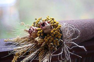 Dekorácie - Kvetinový kornútok - 9022543_