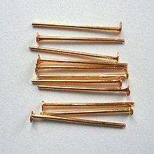 Komponenty - Ketlovací nit-zlatý - 9023902_