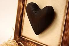 Dekorácie - Srdce v ráme - 9021497_