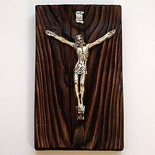 Dekorácie - Korpus Krista na dreve - 9021137_