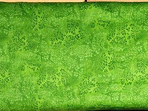Textil - Bavlnená látka L200-201 (zelená kiwi L-201) - 9020615_