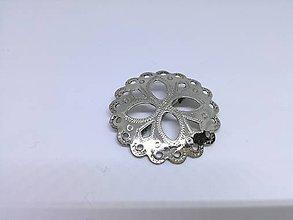 Odznaky/Brošne - ženská ľudová brošňa - 9023824_