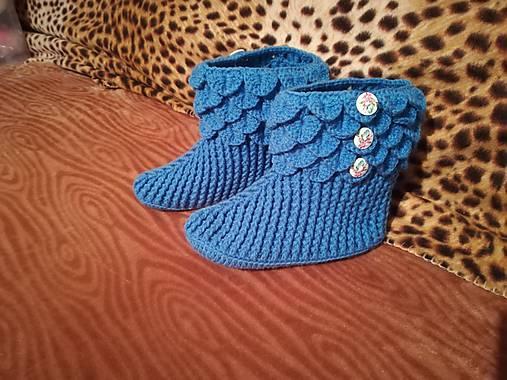 e7cd56d0e3aa Háčkované papučky 006   valika67 - SAShE.sk - Handmade Obuv