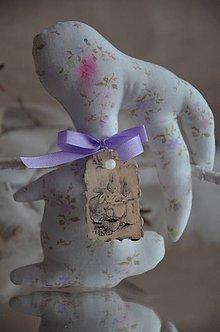 Dekorácie - Zajačik ušatý - 9022650_