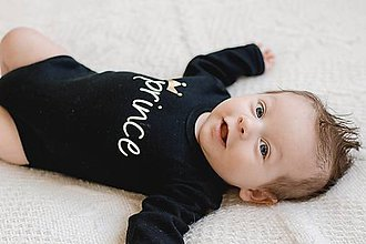 Detské oblečenie - PRINCE / PRINCESS - detské body/tričko - 9020088_