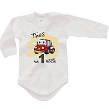 Detské oblečenie - Detské body na narodeniny - 12 - 9022642_