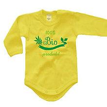 Detské oblečenie - 100% bio produkt - detské body - 9022750_
