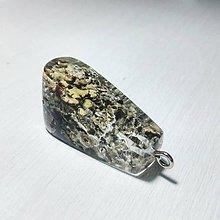 Náhrdelníky - Lišajníkový šperk - 9020128_