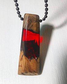 Náhrdelníky - Červený šperk - 9020163_
