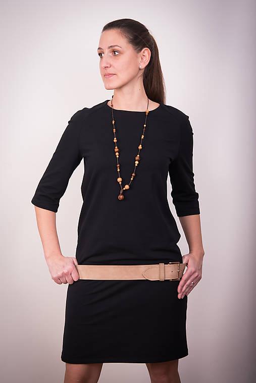 a569f9c309 Čierne šaty raglán   miracles.style - SAShE.sk - Handmade Šaty