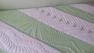 Úžitkový textil - Prikrývka bohato quiltovaná - 9021457_