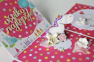 Papiernictvo - Krabička na peniažky - narodeninová - 9023090_