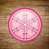 Grafika - Vločkové citrusy 2 - grafika na zdobenie koláčov - 9023761_
