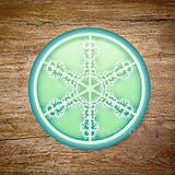 Grafika - Vločkové citrusy 2 - grafika na zdobenie koláčov - 9023764_