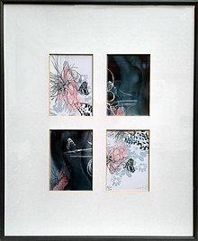 Grafika - Sen motýľa - 9026324_