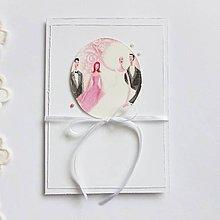 Papiernictvo - Pohľadnica svadobná - 9025141_