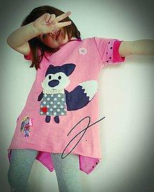 Detské oblečenie - Teplákové šaty - 9025533_