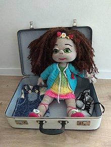 Návody a literatúra - Oblečenie pre bábiku Dorotku - návod na uháčkovanie - 9025704_