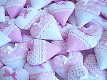Srdiečka ružovo-biele variácie