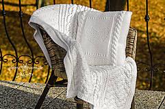 Úžitkový textil - set Biela Anežka - 9027038_