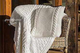 Úžitkový textil - set Biela Anežka - 9027040_