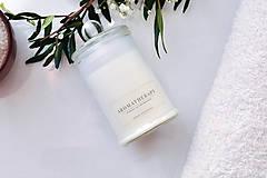 Svietidlá a sviečky - Aromatherapy - Levanduľa, Soľ z Mŕtveho mora 100% prírodná - 9026497_