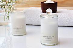 Svietidlá a sviečky - Aromatherapy - Levanduľa, Soľ z Mŕtveho mora 100% prírodná - 9026498_