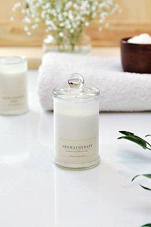 Svietidlá a sviečky - Aromatherapy - Levanduľa, Soľ z Mŕtveho mora 100% prírodná - 9026499_