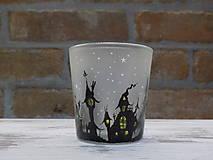 Svietidlá a sviečky - Kolekcia Strange city - Svietnik na čajovú sviečku - 9027347_