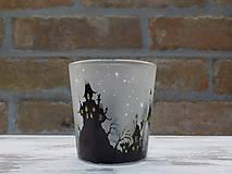 Svietidlá a sviečky - Kolekcia Strange city - Svietnik na čajovú sviečku - 9027349_