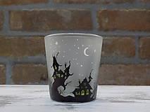 Svietidlá a sviečky - Kolekcia Strange city - Svietnik na čajovú sviečku - 9027351_
