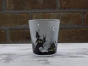 Svietidlá a sviečky - Kolekcia Strange city - Svietnik na čajovú sviečku - 9027348_
