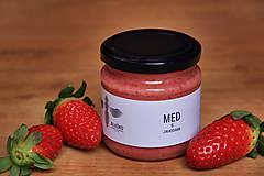 Potraviny - Med s jahodami - 9026768_