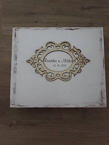 Krabičky - Krabička na svadobné gratulácie - 9027132_