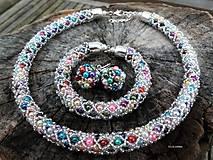 Sady šperkov - COLORAMA WINTER NET - vyskladaj si vlastnú sadu - 9025671_