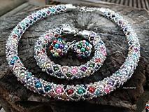 Sady šperkov - COLORAMA WINTER NET - vyskladaj si vlastnú sadu - 9025737_