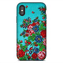 Na mobil - iphone X TOUGH Kašmír modrý - 9025883_