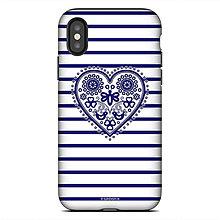 Na mobil - iphone X TOUGH Bzovík modrý - 9026109_