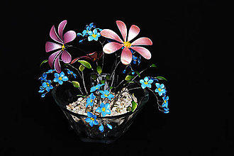 Dekorácie - Stále kvitnúca - 9024773_